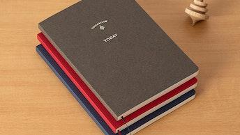 週間ダイアリー「TODAY(¥1,540/税込)」時間単位でのスケジュール管理やひとこと日記など嬉しい機能も