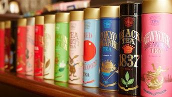 コレクションしたくなる、アート作品の様な紅茶缶。ギフトにもおすすめ!