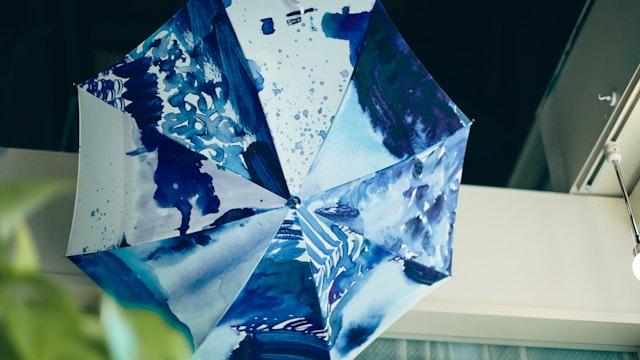 オーナーで作家のひがしちかさんがデザインしているコシラエルの傘は、他では出会えない魅力に溢れています
