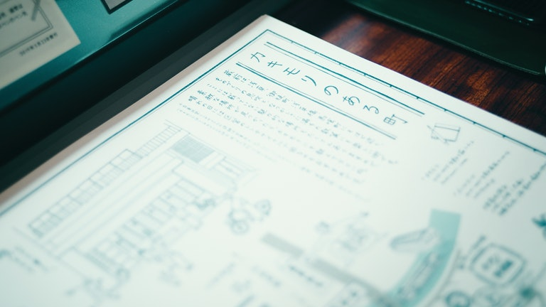 店内にはカキモリが発行している蔵前エリアのマップも置かれている。手書きの風合いにほっこり