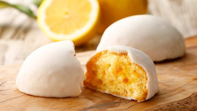 通常のレモンケーキは通販でも購入OK〔レモンケーキ(4個入 ¥864/税込)〕
