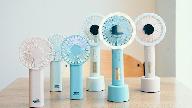 これからの季節に活躍してくれそうなハンディ扇風機