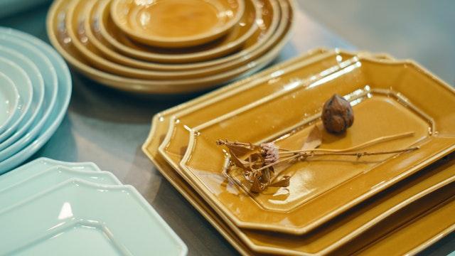 和食にも洋食にも合う、毎日使いたくなるシンプルでセンスの良い食器が揃う