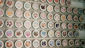 365種類が並んだ姿は圧巻!3種の香りが揃うのはオレンジ通り店のみ〔365ハンドクリーム(¥1,000/税抜〕