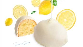 この時期しか楽しめない限定のレモンケーキ〔LEMONケーキ(1個 ¥320、3個入 ¥1,000/税込)〕