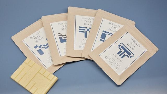 ベトナム、ハイチなど産地ごとに異なる風味の「タブレット テロワール ブラン(¥1,200/税別)