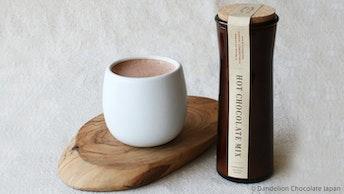 おうちカフェなら味の濃さもお好みに〔ホットチョコレートミックス(¥1,944/税込)〕