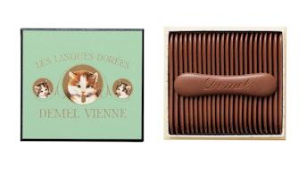 まるで猫の舌!?チョコレートとパッケージの美しさにも注目