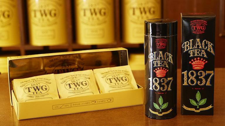 「Moon&Sky Tea Selection」と「1837 Black Tea」