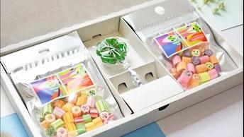 「ありがとう」の気持ちが伝わる限定のギフトセット〔ホワイトデーキャンディセット(¥1,860/税込)〕