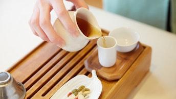 中国茶は1回分の茶葉で何杯も飲むことが出来ます。一杯毎の変化を味わへるのも中国茶ならでは
