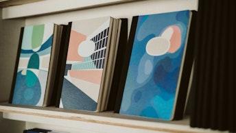 パリにあるオランジュリー美術館との特別なコラボレーションノート〔A5サイズノートブック(¥1,540/税込)〕