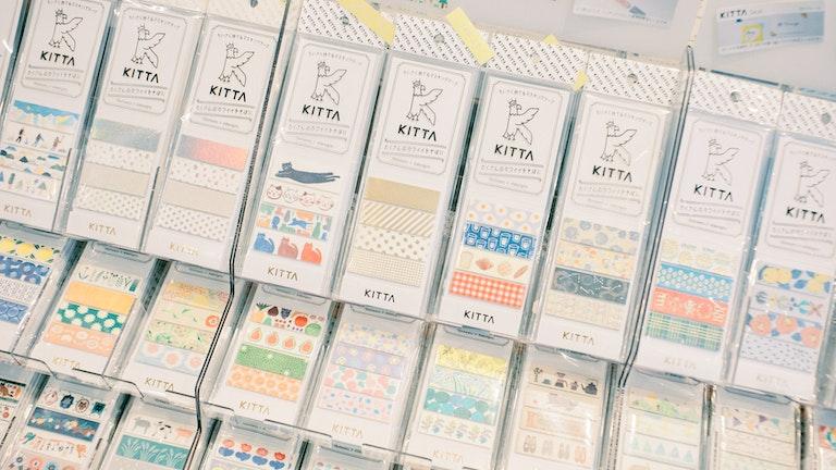 「KITTA」をはじめ、日々をたのしむ文房具「HITOTOKI」シリーズが充実