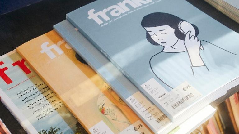海外のカルチャー雑誌なども豊富。こちらはオーストラリアの人気雑誌「frankie」
