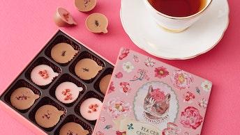 お茶と一緒に楽しみたい紅茶風味のティーカップ型チョコレート〔ティーカップショコラ(¥1,500/税込)〕
