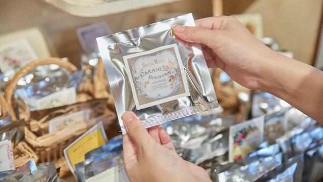 気になる味をいろいろ試せる、ひとつずつ個包装のタイプも人気