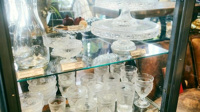 涼しげなガラスの食器はこれからの季節にぴったり! ボウルやグラスなど種類も豊富