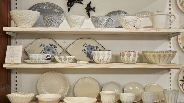 お茶と合わせて選びたい茶器などの食器も素敵