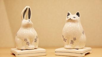 インテリアのアクセントにもなるウサギや猫といったかわいい香炉も人気!