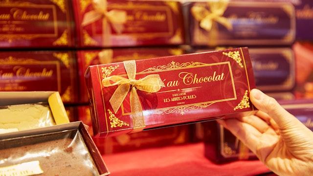 お店の1番人気である「スフレ・オ・ショコラ(¥2,200/税抜)」
