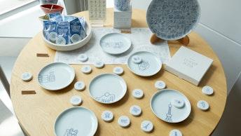 東京の街や文化をモチーフにした〔TOKYO ICON〕シリーズ。マグネットはお土産としても人気!