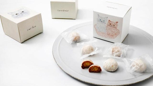 ふんわりと柔らかいタッチが印象的。優しい甘みの「ねこねこクッキー ミルク味(1箱6個入 ¥480/税抜)」