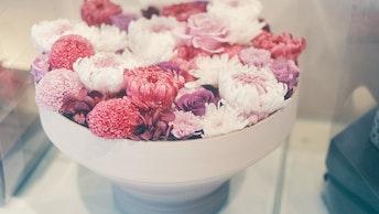 まるで生花のような瑞々しい美しさが人気のベル・フルールのプリザーブドフラワー